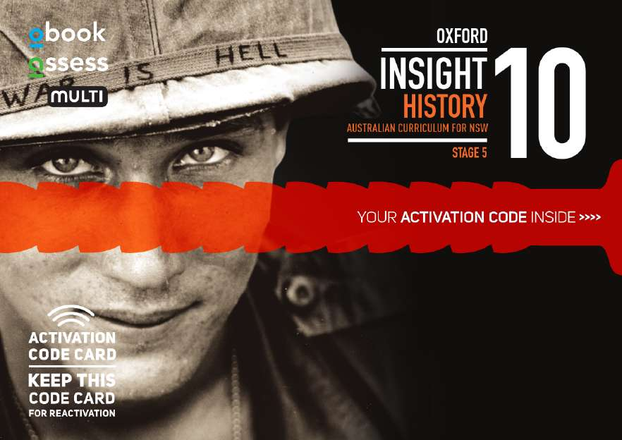 Oxford Insight History 10 AC for NSW obook assess MULTI code card
