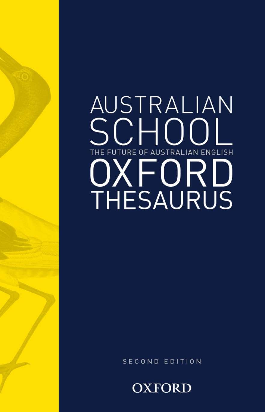 The Australian School Oxford Thesaurus
