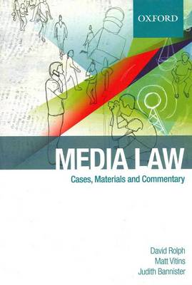 Media Law: Cases and Commentary