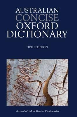 Australian Concise Oxford Dictionary 5e Paperback