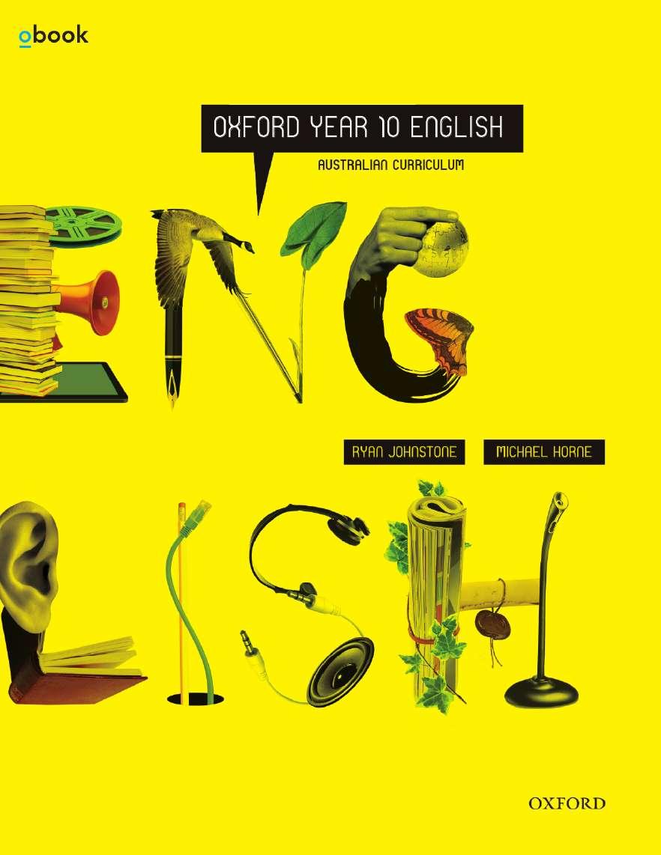 Oxford English Year 10 Australian Curriculum Student Book + obook