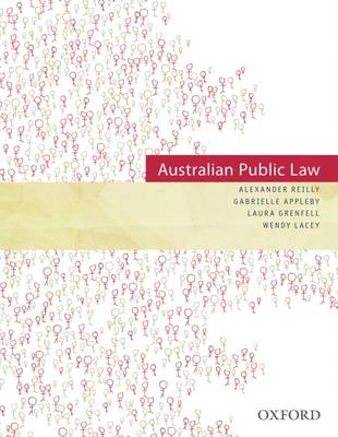 Australian Public Law by Reilly