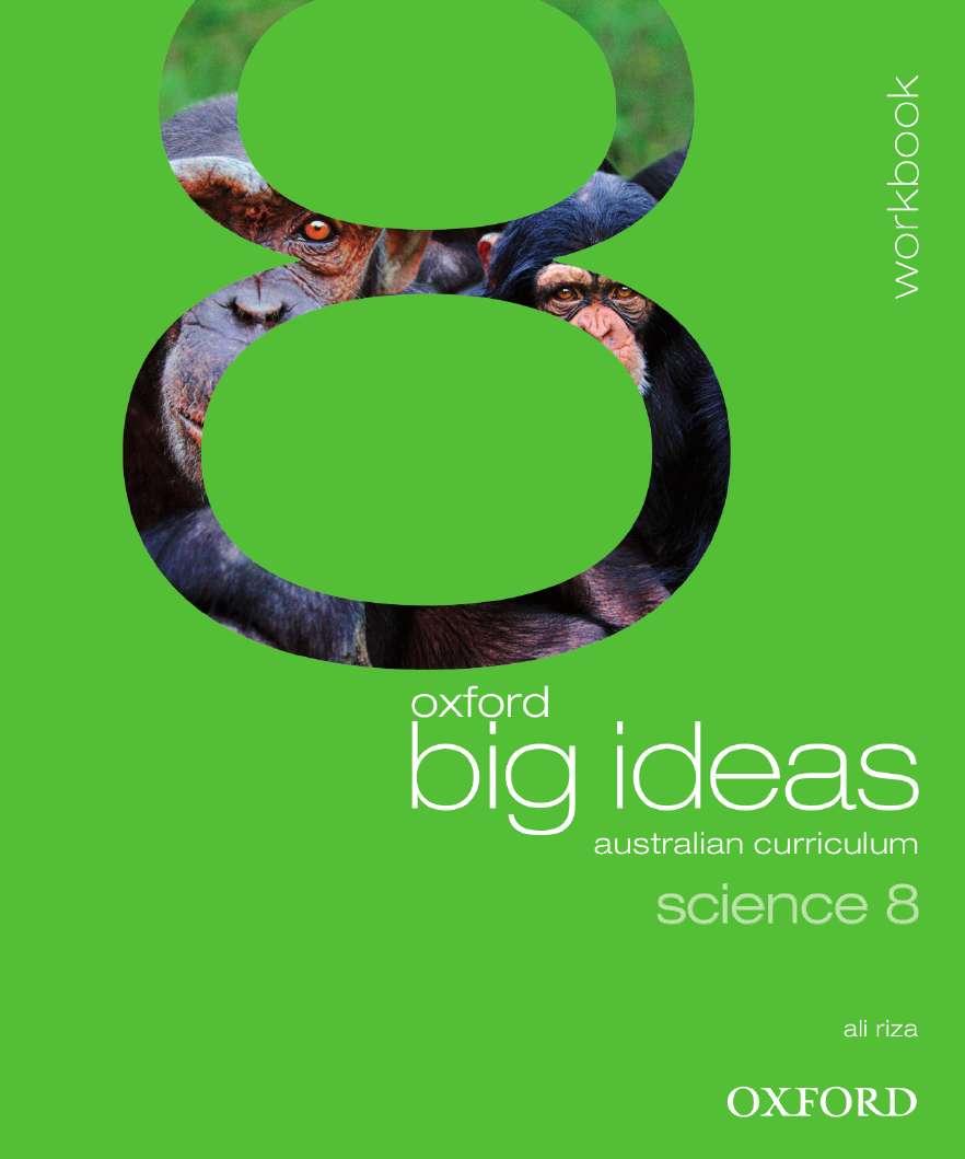 Oxford Big Ideas Science 8 Australian Curriculum Workbook