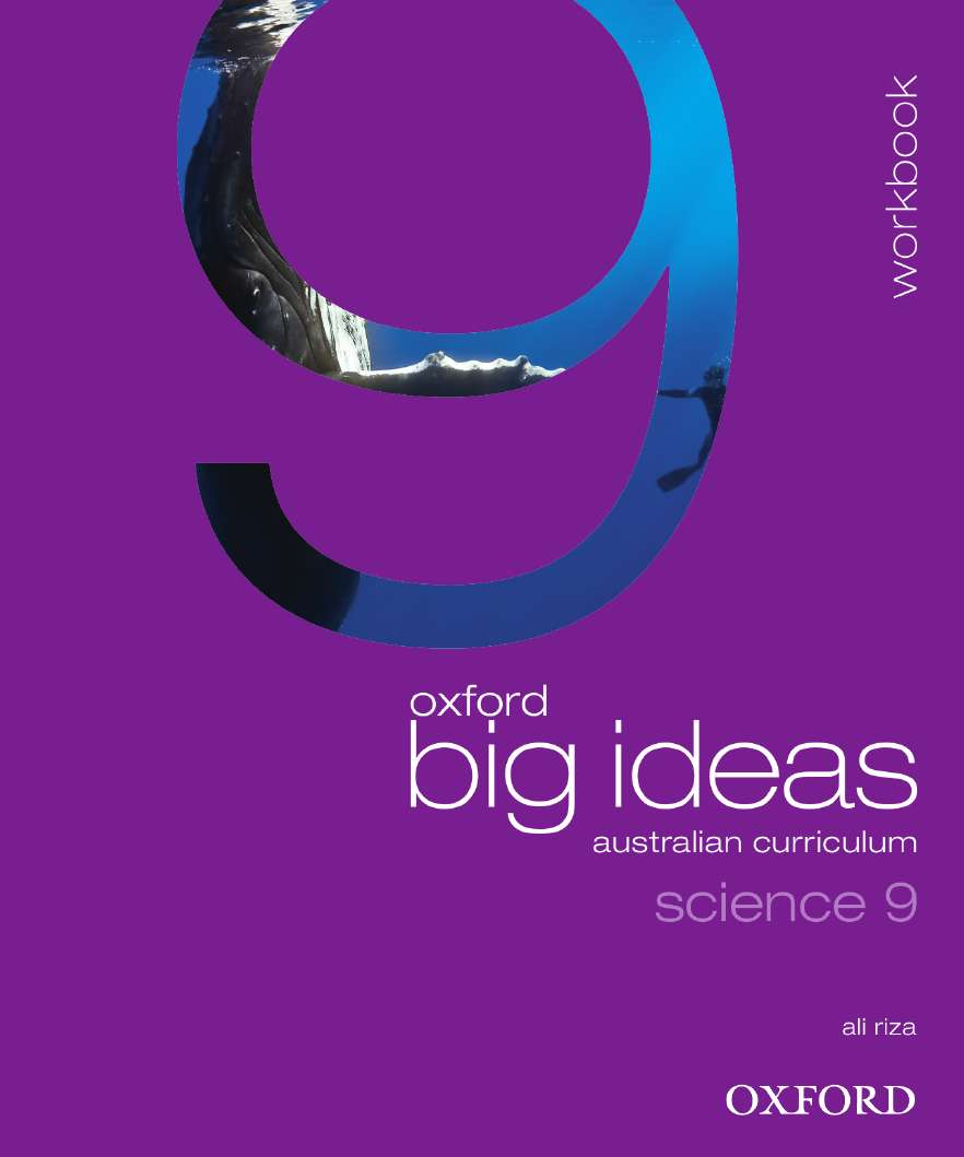 Oxford Big Ideas Science 9 Australian Curriculum Workbook