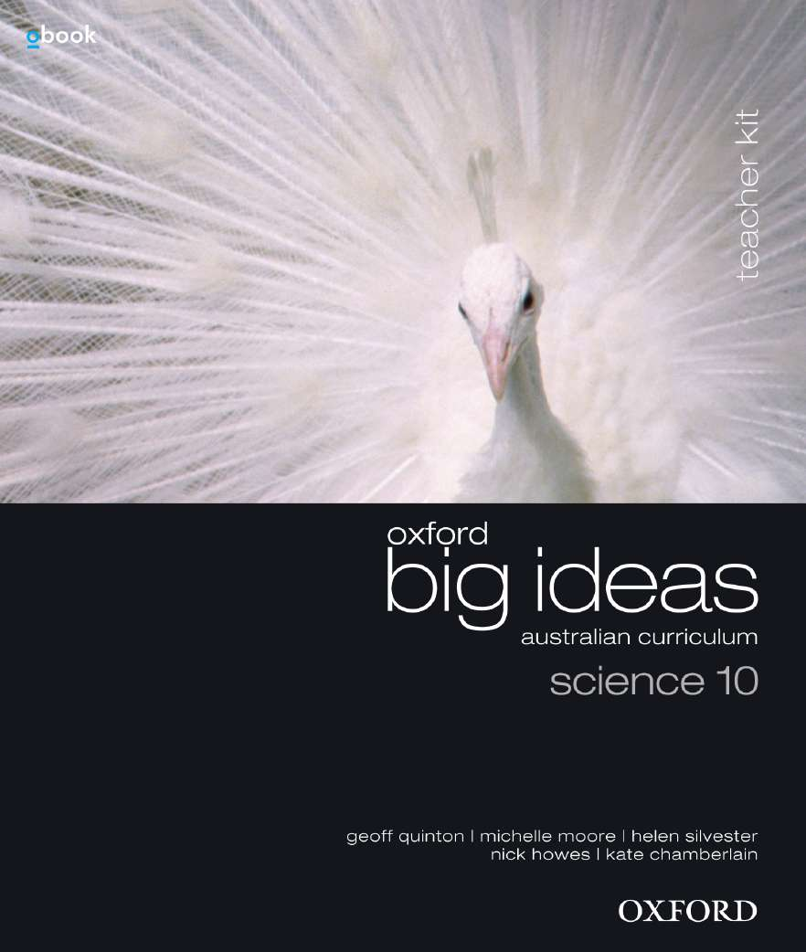 Oxford Big Ideas Science 10 Australian Curriculum Teacher Kit + obook assess