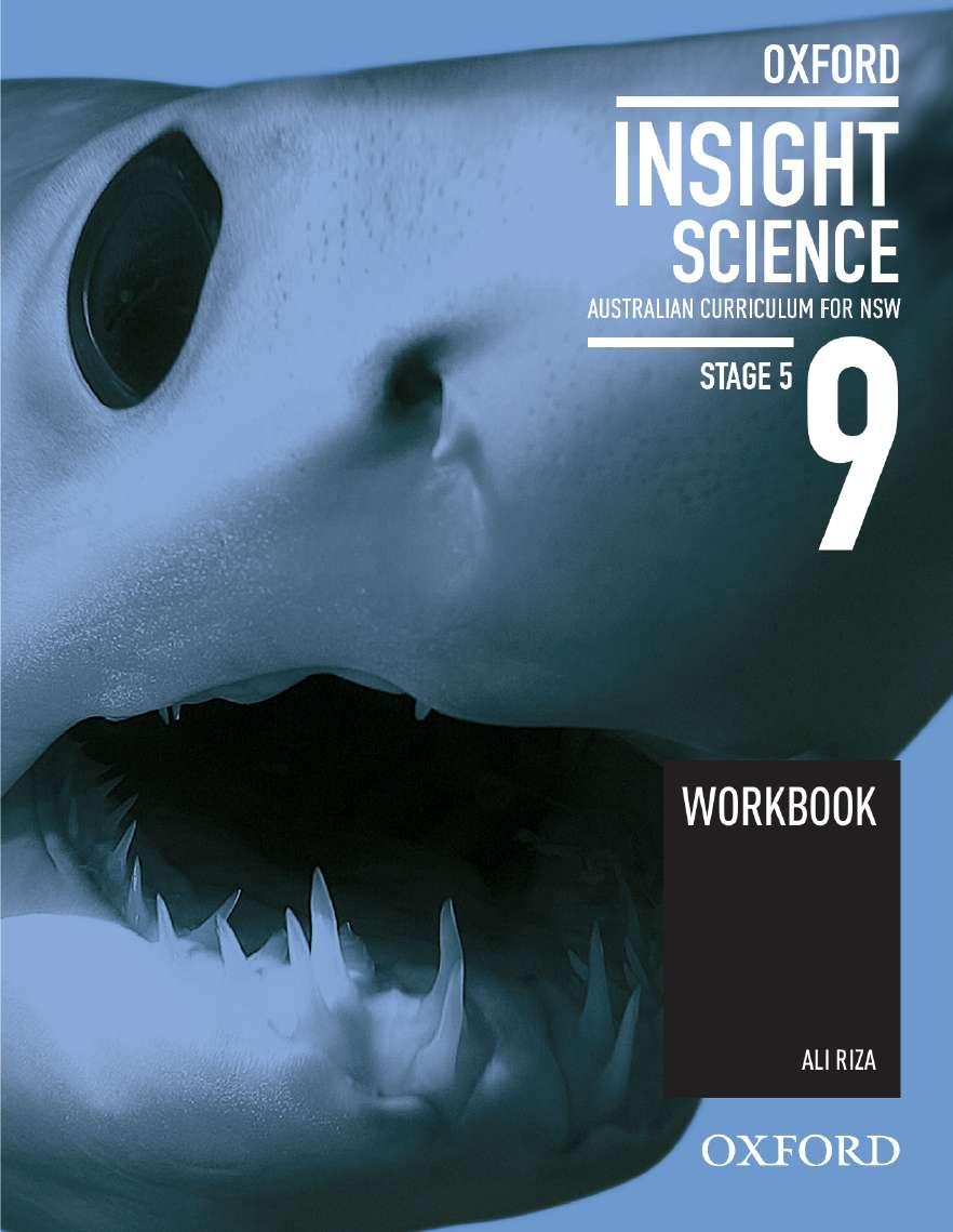 Oxford Insight Science 9 Australian Curriculum for NSW Workbook