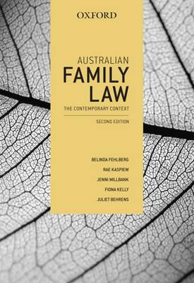 Australian Family Law 2nd Edition