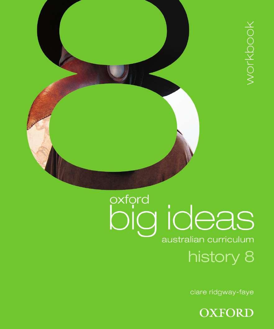 Oxford Big Ideas History 8 Australian Curriculum Workbook