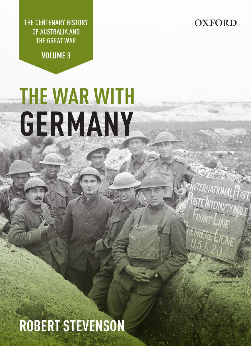 The War with Germany: Volume III