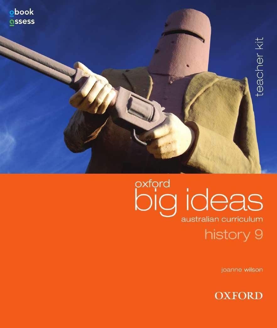 Oxford Big Ideas History 9 Australian Curriculum Teacher Kit + obook assess