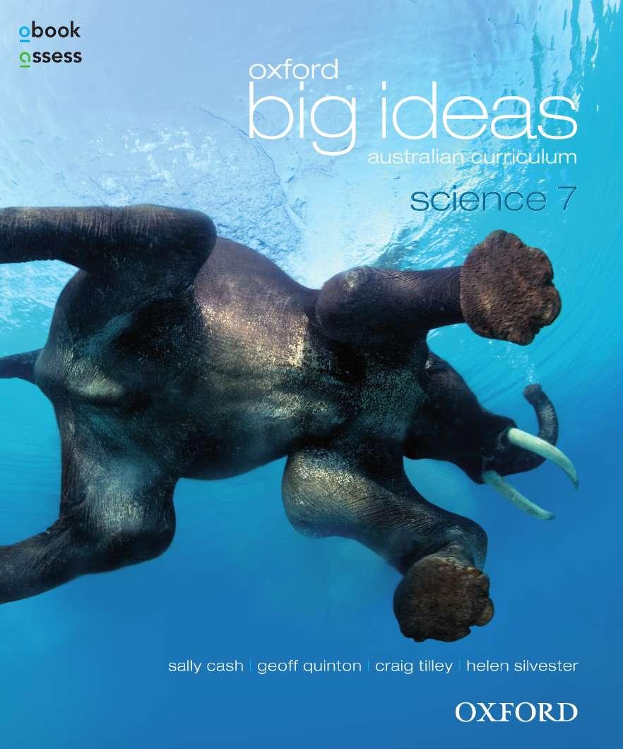 Oxford Big Ideas Science 7 Australian Curriculum Student book + obook assess