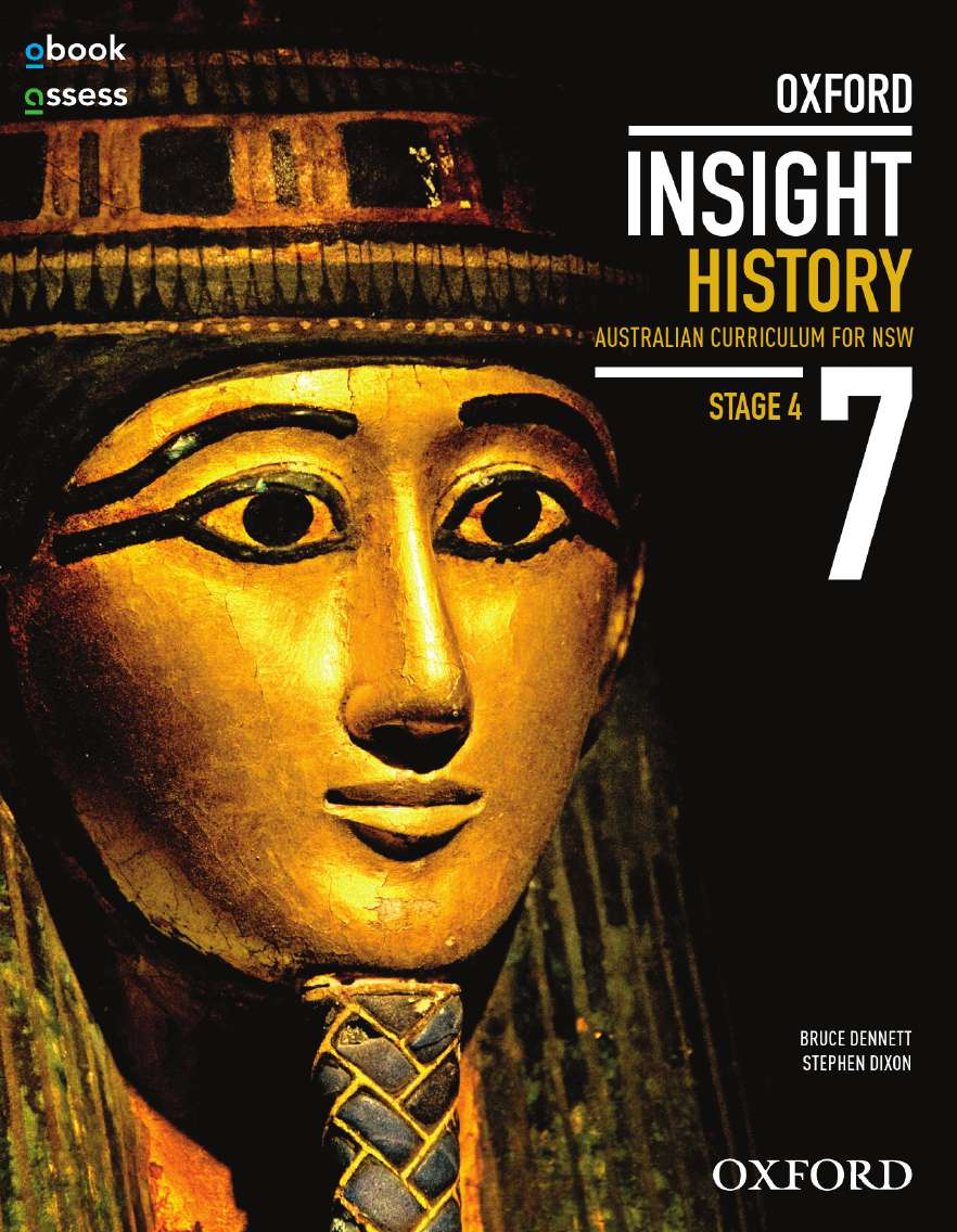 Oxford Insight History 7 AC for NSW Student book + obook assess