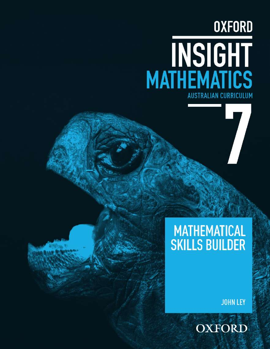 Oxford Insight Mathematics 7 AC for NSW Mathematical Skills Builder