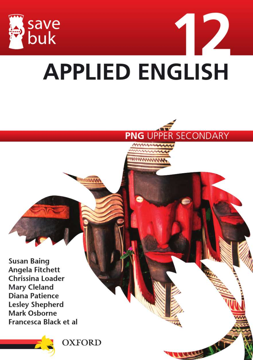 Save Buk: PNG Upper Secondary - Applied English, Grade 12