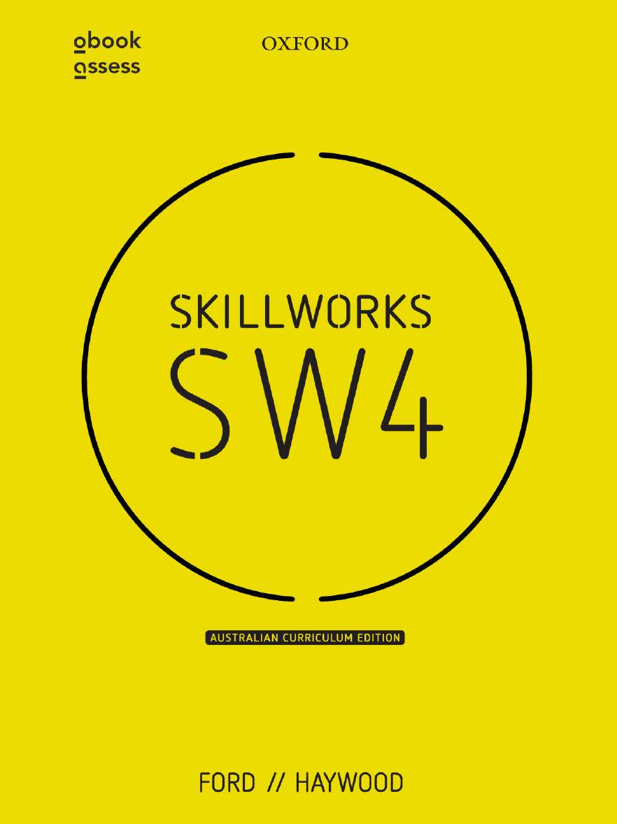 Skillworks 4 Australian Curriculum Edition Student book + obook assess