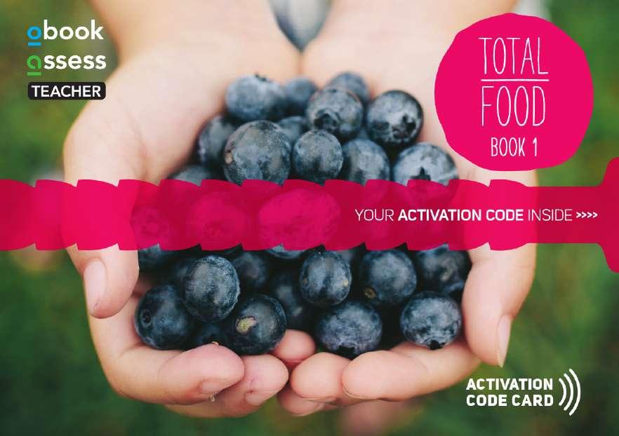 Total Food 1 Teacher obook assess (code card)