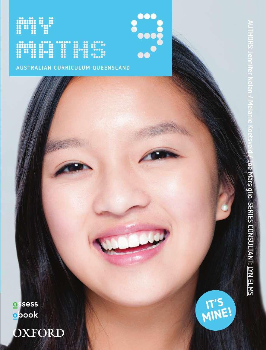 Oxford MyMaths 9 Australian Curriculum Queensland Student book + obook assess