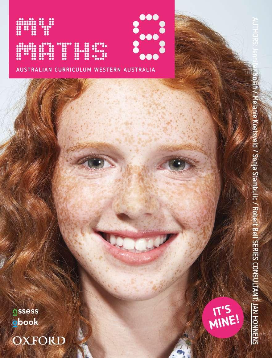 Oxford MyMaths 8 Western Australian Curriculum Student book + obook assess