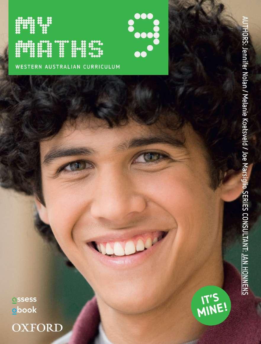 Oxford MyMaths 9 Western Australian Curriculum Student book + obook assess