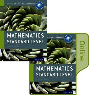 IB Course Book: Mathematics Standard Level Student Book and Online Pack