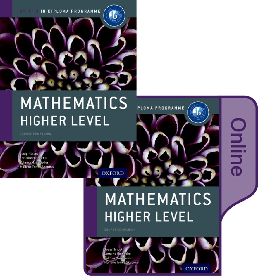 IB Course Book: Mathematics Higher Level Student Book and Online Pack