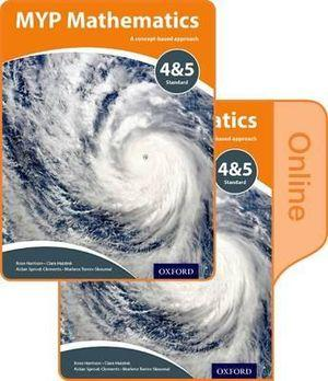 MYP Mathematics 4 & 5 Core Print and Online Course Book Pack