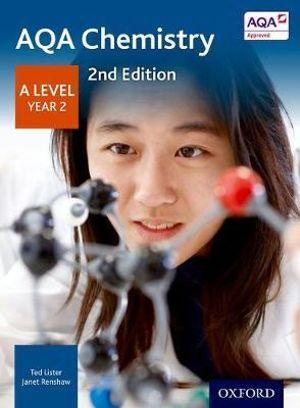 AQA A Level Chemistry Year 2 Student Book
