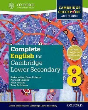 Complete English for Cambridge Secondary 1 Student Book 8