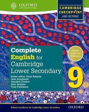 Complete English for Cambridge Secondary 1 Student Book 9