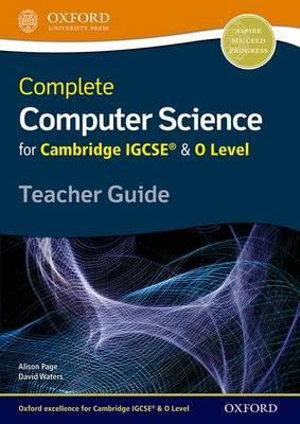 Complete Computer Science for Cambridge IGCSERG & O Level Teacher Resource Pack