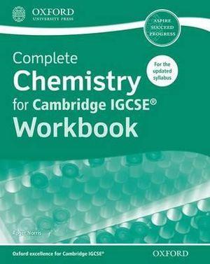 Complete Chemistry for Cambridge IGCSERG Workbook