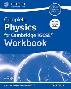 Complete Physics for Cambridge IGCSERG Workbook