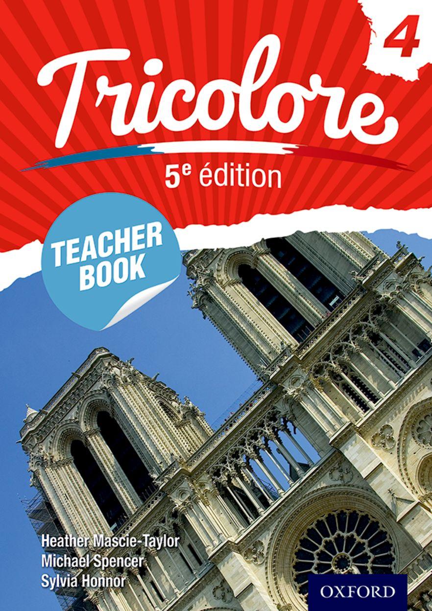 Tricolore Teacher Book 4