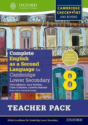 Complete English as a Second Language for Cambridge Secondary 1 Teacher Pack 8