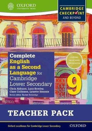 Complete English as a Second Language for Cambridge Secondary 1 Teacher Pack 9
