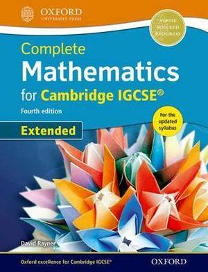 Complete Mathematics for Cambridge IGCSERG Student Book  Extended