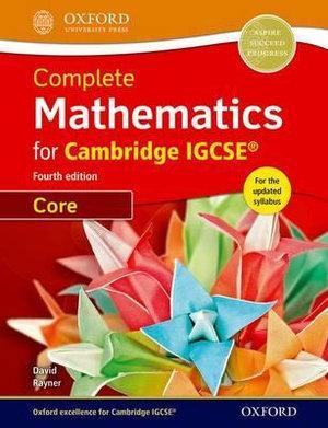 Complete Mathematics for Cambridge IGCSERG Student Book  Core