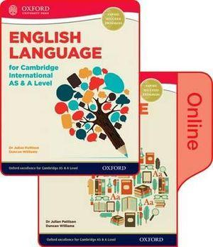 English Language for Cambridge International AS & A Level SB & Token Online Book