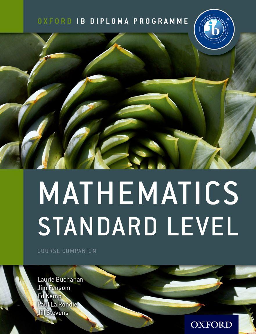 IB Course Book: Mathematics Standard Level