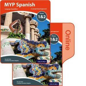 MYP Spanish Language Acquisition Phases 1&2 Print and Online Pack for Years 1-3