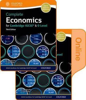 Complete Economics for Cambridge IGCSE and O-Level Print & Online SB Pack 3E