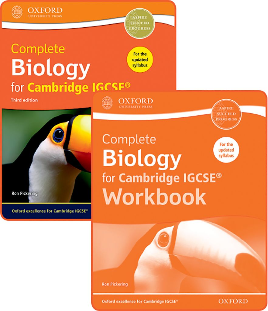 Complete Biology for Cambridge IGCSE Student Book & Workbook Pack