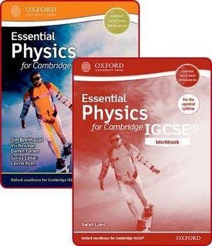 Essential Physics for Cambridge IGCSE Student Book and Workbook Pack