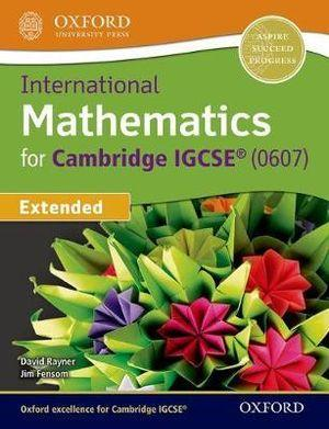 International Maths for Cambridge IGCSE Student Book