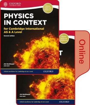 Physics in Context for Cambridge International AS & A Level Print and Online Stu