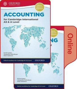 Accounting for Cambridge International AS & A Level Print and Online Student Boo