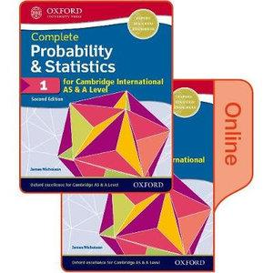 Probability & Statistics 1 for Cambridge International AS & A Level
