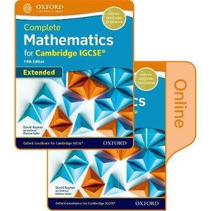 Complete Mathematics for Cambridge IGCSERG Student Book (Extended)