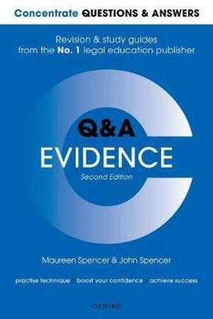 Concentrate Questions and Answers Evidence Law