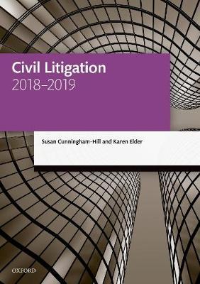 Civil Litigation 2018-2019